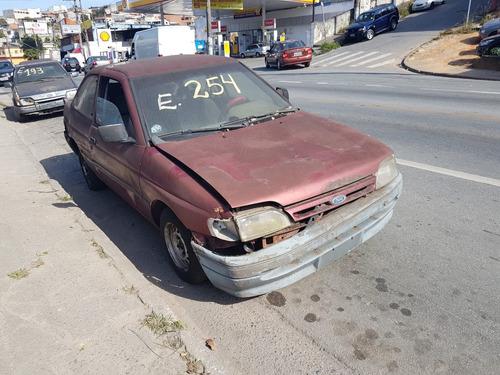 ford escort 1.6 gl 1994 (sucata somente peças)