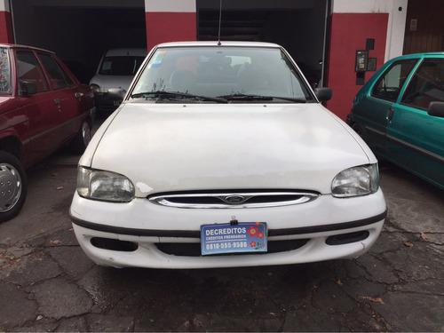 ford escort clx 99 nafta - 5 puertas full $40.000+ctas fijas