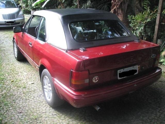 ford escort conversível xr3 1.8 motor ap impecável lindo