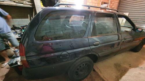 ford escort glx 16vf azul 4 portas 1.8