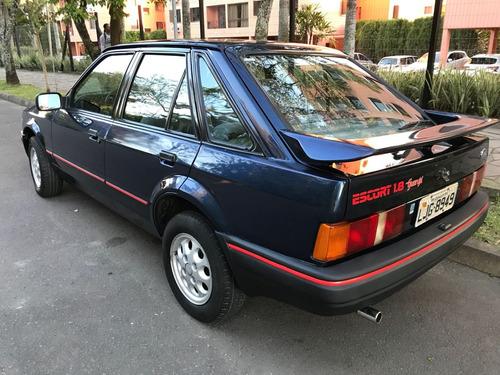 ford escort guarujá 1.8