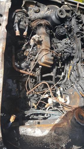 ford escort guia sx 5p año 1992 chocado incendiado