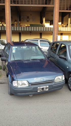 ford escort lx 1993 azul
