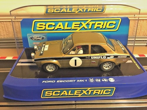 ford escort mk1 rs 1600 rally scalextric digital 1/32. ed l.