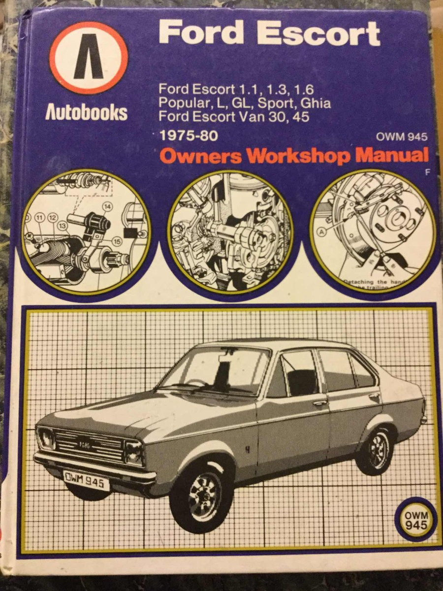 ford escort owners workshop manual ghia microcentro. Cargando zoom.