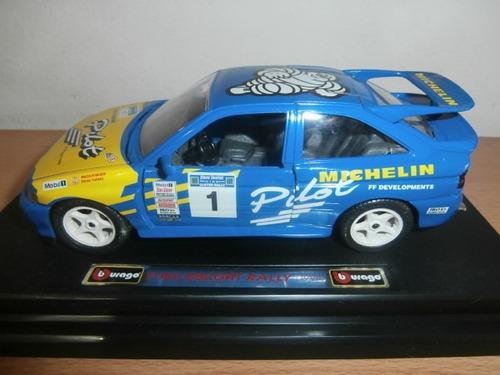 ford escort rally 1994 burago escala: 1:24