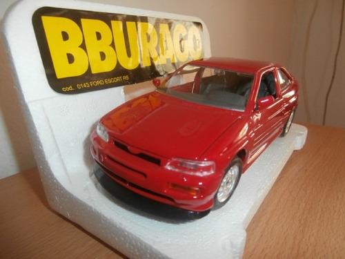 ford escort rs 1994 burago escala: 1:24