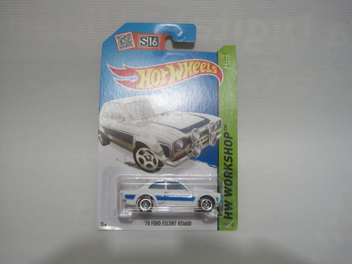 ford escort rs1600 70 hotwheels mattel 2015 diecast