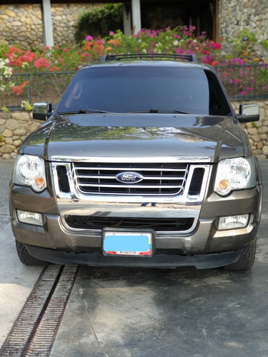 ford explorer 2010 unico dueño blindada nivel 3 plus.
