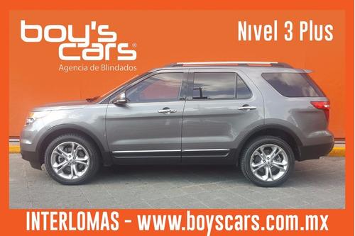 ford explorer 2013 blindada nivel 3 plus limited v6 4x2