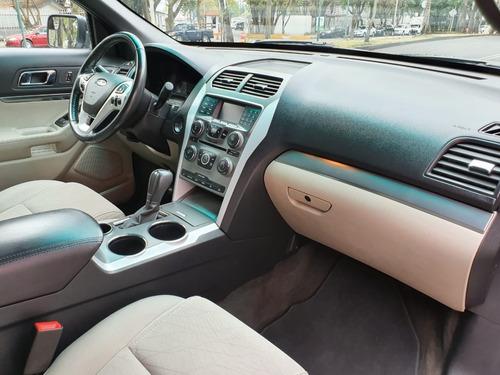 ford explorer 2013  xlt 7pas  excelente estado recibo auto!