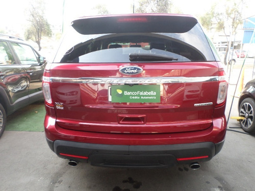 ford explorer 2014 3.5 xlt rojo