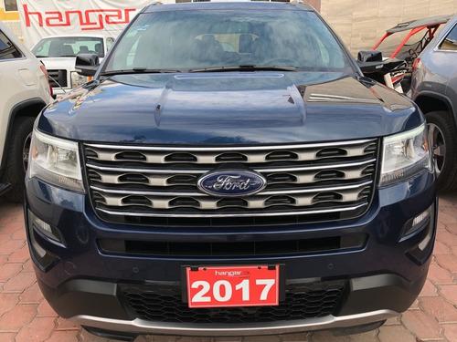 ford explorer 3.5 xlt piel at 2017 azul hangar