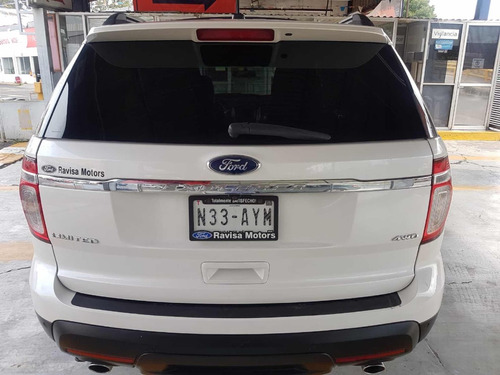 ford explorer 4.0 limited v6 sync 4x4 mt 2012