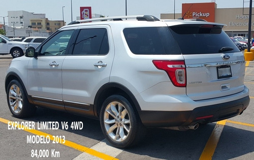 ford explorer 4.0 limited v6 sync 4x4 mt 2013