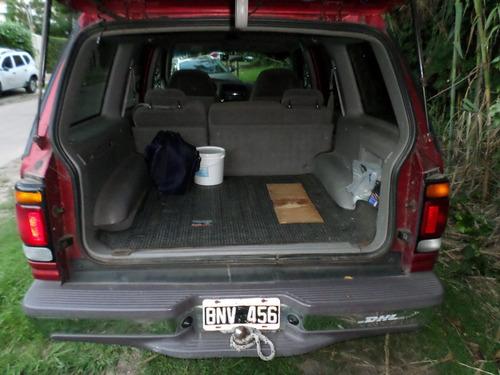 ford explorer 4x4 sport manual 1998 bordó todo terreno