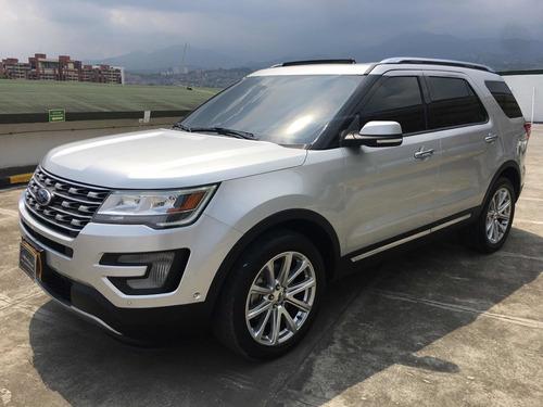 ford explorer limited 2017, 4x4, unico dueño