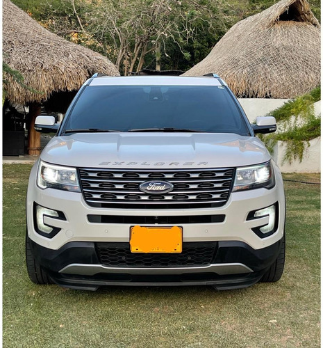 ford explorer limited 2017 v6 3.4l blanca 4x4