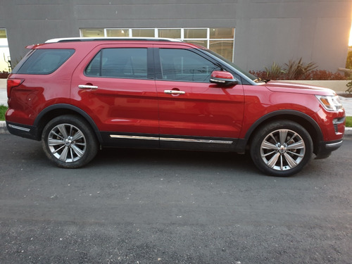 ford explorer limited 2018 - 16000 km