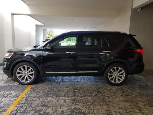 ford explorer limited fwd v6 2016 negra