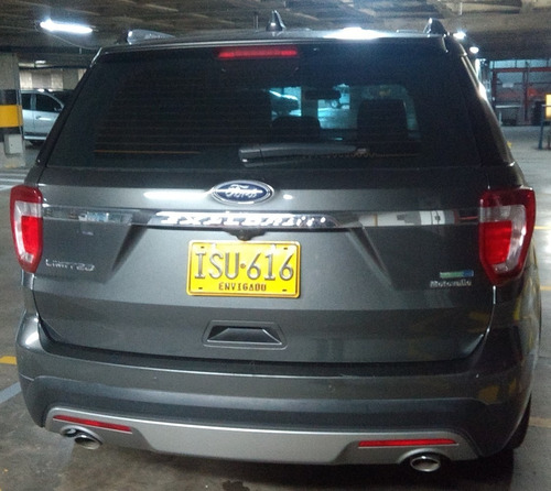 ford explorer limited, mod. 2016 motor 3500cc, 4x4 5 puertas
