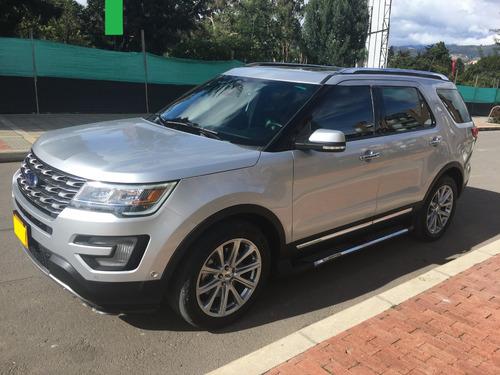 ford explorer limited - modelo 2017