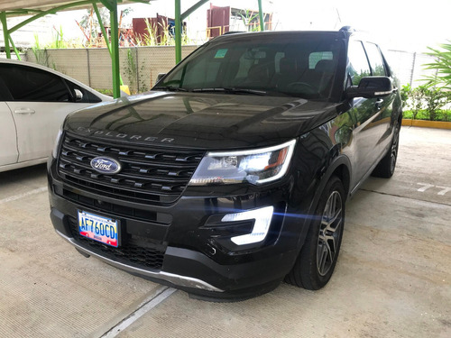 ford explorer sport negra 4x4 traccion integral