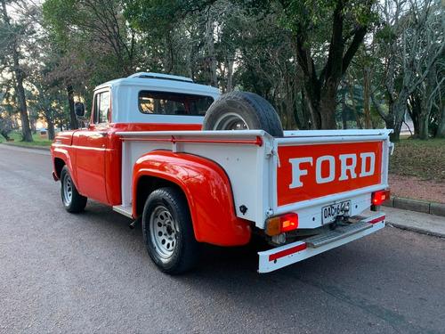ford f-100 1957 inmaculada
