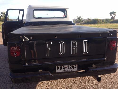 ford f-100 1960 v8. hecha completamente a nuevo.