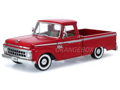 ford f-100 1965 custom cab pick-up 1:18 sunstar 1287