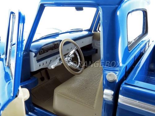 ford f-100 1965 custom cab pick-up truck sunstar 1289
