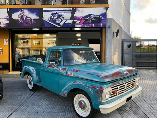 ford f-100 año 1964 motor v8 camioneta pro seven!!