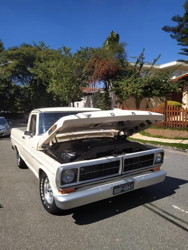 ford f 100 f100 v 8 pick up caminhonete v8 placa preta