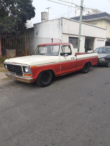 ford f-100 ford f100 77 deluxe