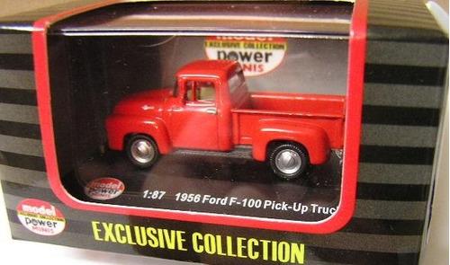 ford f-100 pickup 1956, 1/87 h0. model power.!
