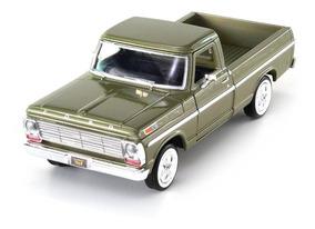 Ford f 100 pick up grúa 1969 1:24 motor max maqueta de coche