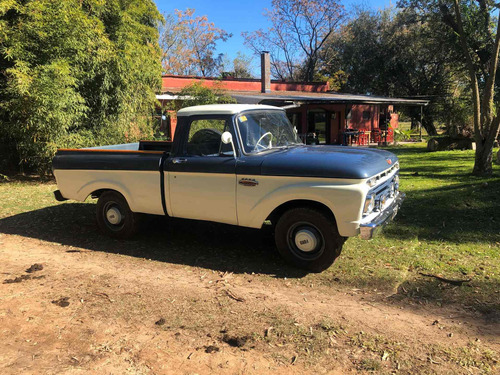 ford f 100 twin and bean