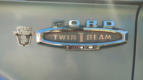 ford f-100 twin i beam año 1966 motor v8 única