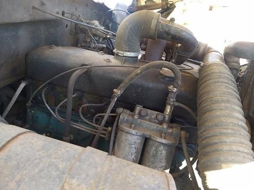 ford f-11000 ano 1981 motor 352-a freio a ar carroceria
