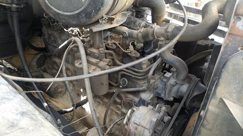 ford - f-13000 - motor mwm - caçamba - ano 1984 - turbo red.