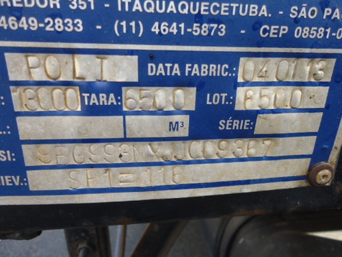 ford f 14000, 2000, poli / poliguindaste simples