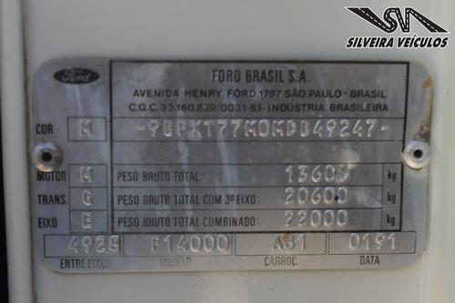 ford f-14000 caçamba - ano: 1991