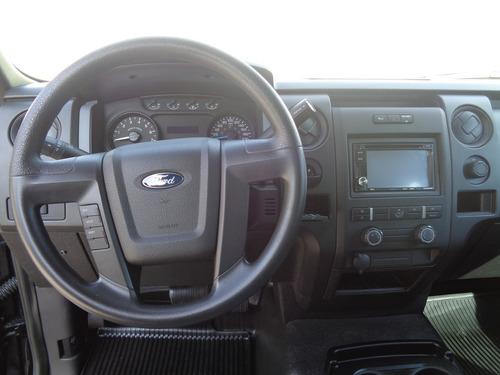 ford f-150 3.7 xl cabina y media 4x2 mt 2014 negro profundo