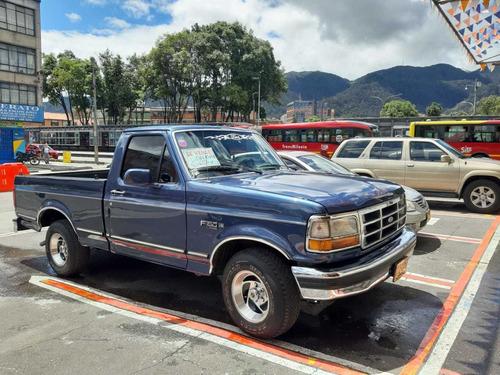 ford f-150 5000cc 8v gas-gasolina azul danés