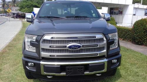 ford f-150 platinum 3.5 lts ecoboost 4x4 casi nueva 2016
