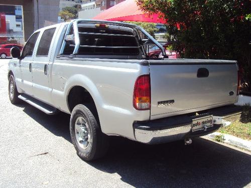 ford f-250 4.2 td xlt cab. dupla 4p ano 2004