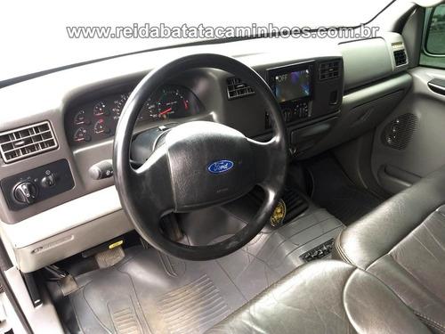 ford f-250 mwm 4.2 xlt cab.dupla 4p w20 original de fábrica