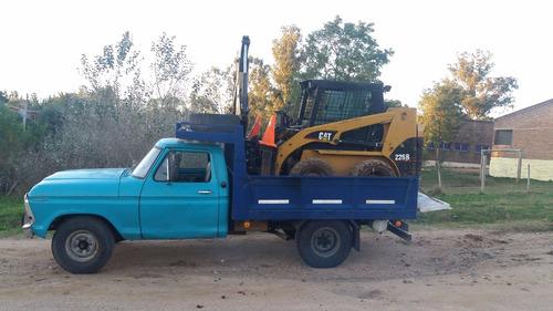 ford f-250 preparada,traslados  bobcat rampas, cargas etc