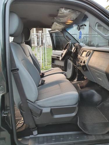 ford f-250 super duty motor 6.2 l 2011 pick up 4 puertas
