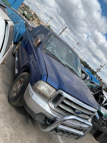 ford f-250 tropical azul 4 portas v6 gasolina.